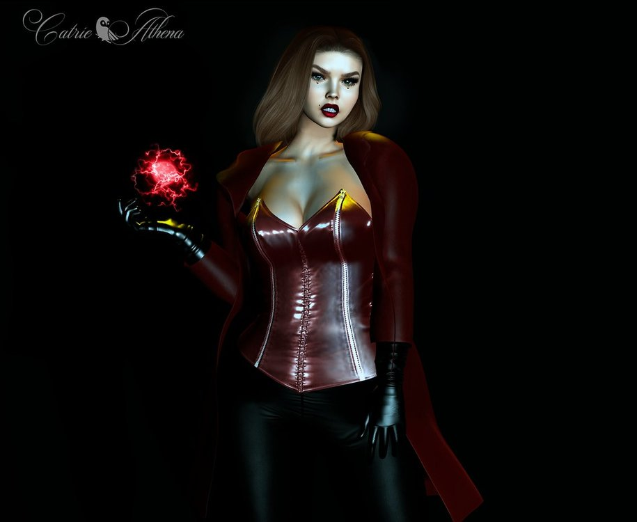 Day 25 Scarlet Witch
