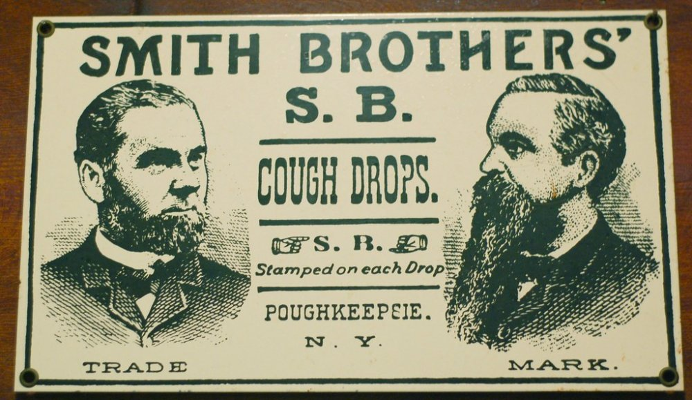 SMITH BROTHERS' S.B. COUGH DROPS. ☞ S.B.☜ Stamped on each … | Flickr