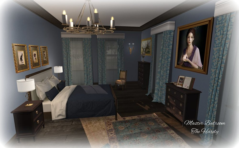 Master Bedroom - The Hardy