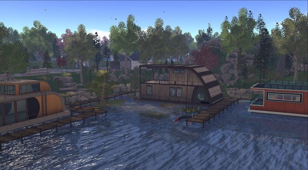 My Houseboat in SL.