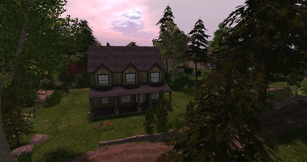LH - Log Homes - Log home 3 - Overlook V0.8