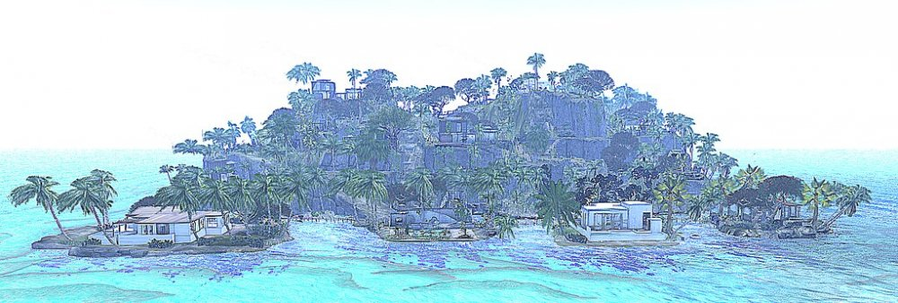 Pavlin -Scenic Bali Inspired Sim,  Residential and Public , Fantasy Forest_001C