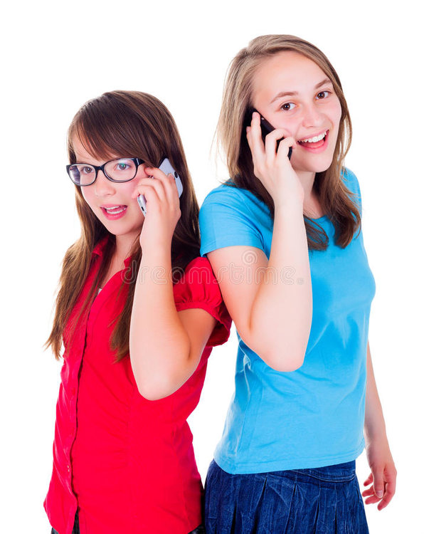 girls-talking-together-mobile-phone-teen