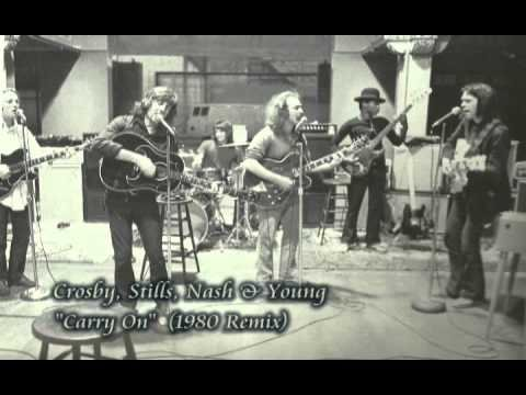 "Crosby, Stills, Nash & Young - ""Carry On"" -1980 Remix - YouTube"