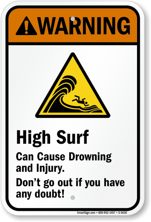Beach Safety Signs | Safety Signs for Beaches