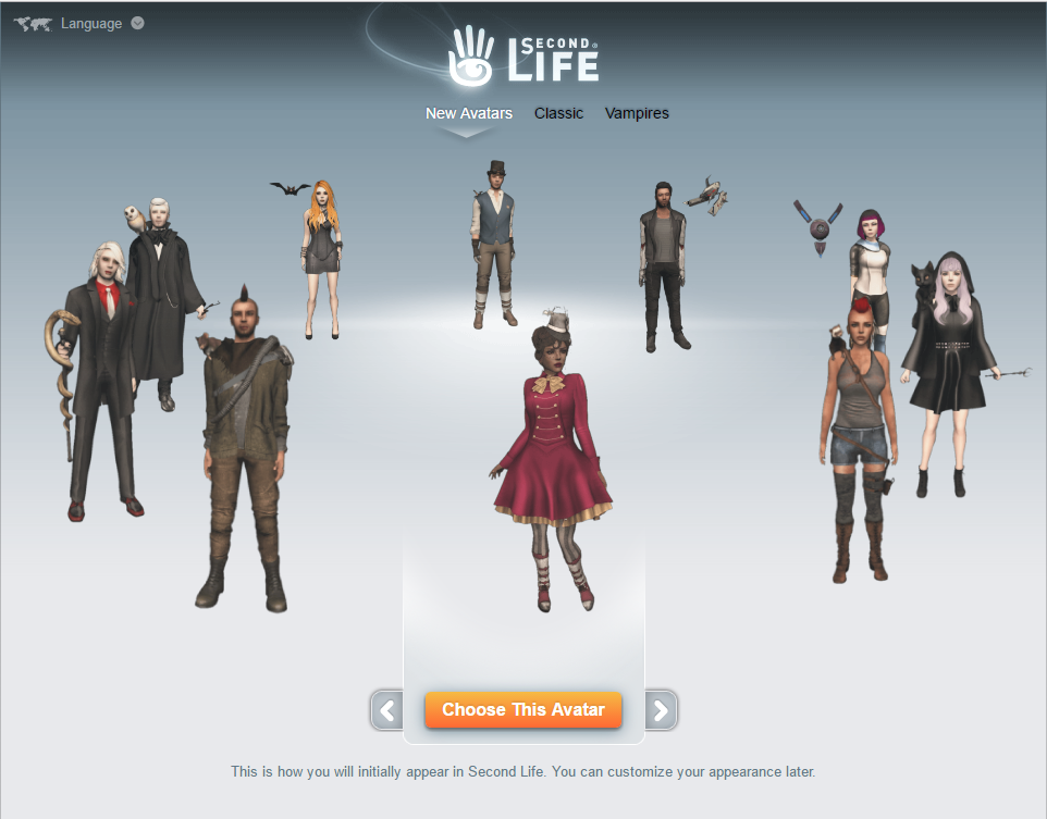 Second Life Quickstart - English - SecondLife Community