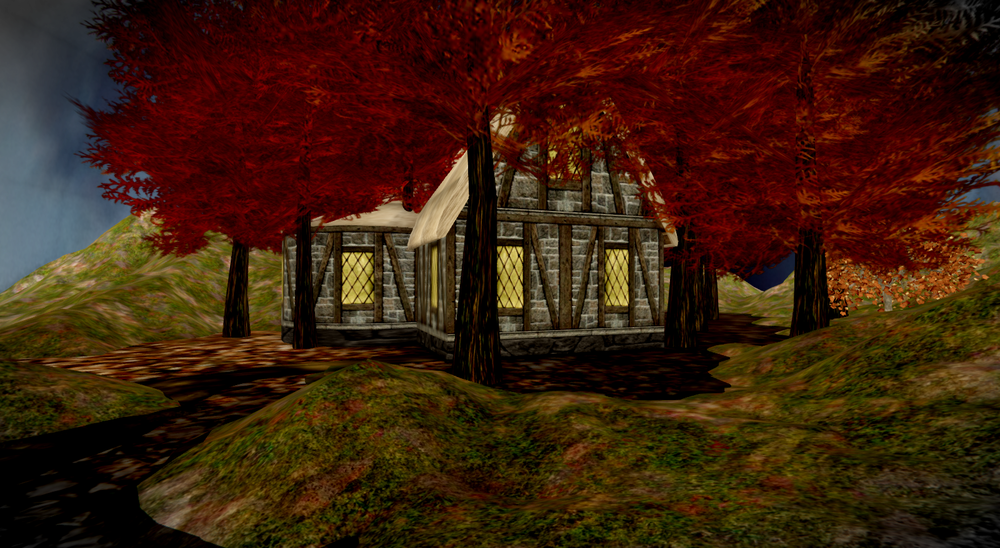 Cozy cabin in the fall.png
