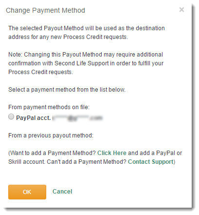 Process Credit (Withdrawal) Requests : Linden Lab