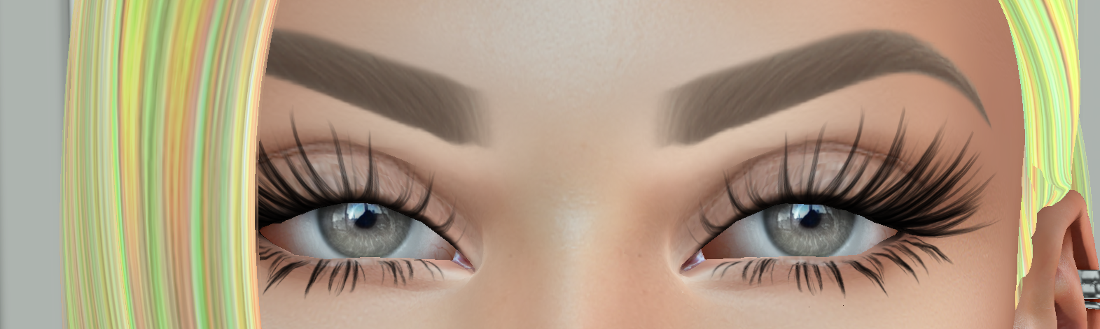 Eyebrow Appliers Arent Straight Catwa Avatar Secondlife Community