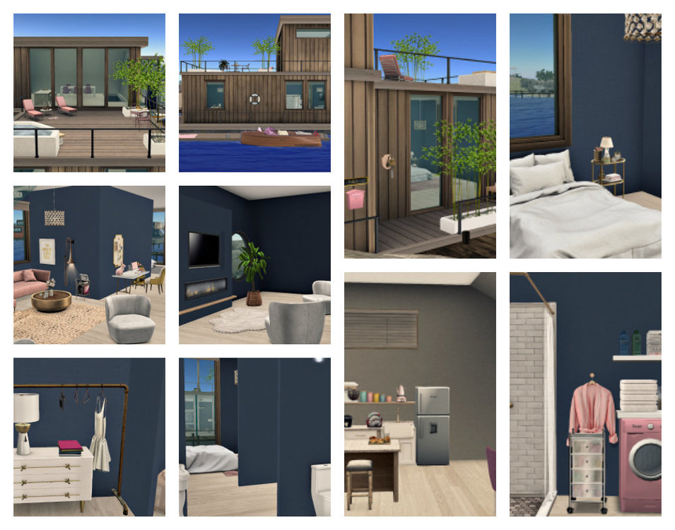 Bellisseria Houseboat Collage.jpg