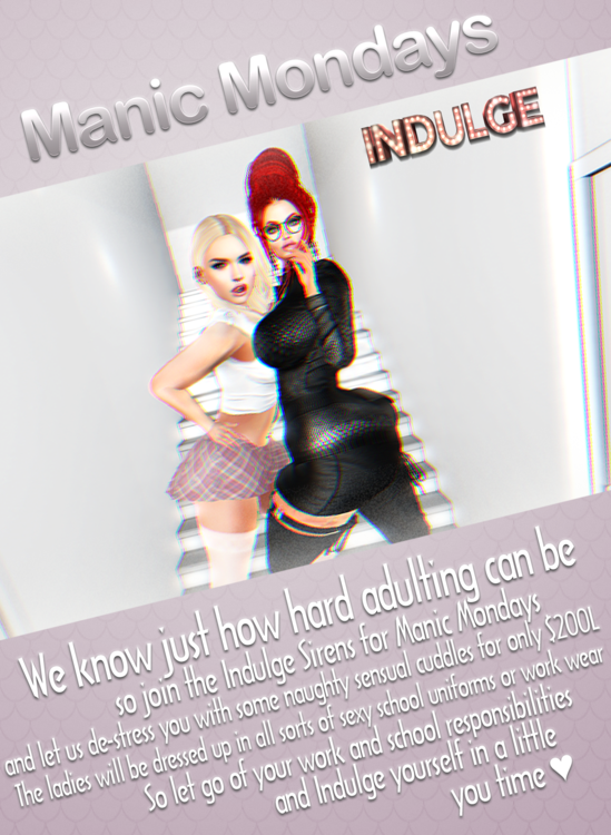 Indulge Manic Monday Flyer.png