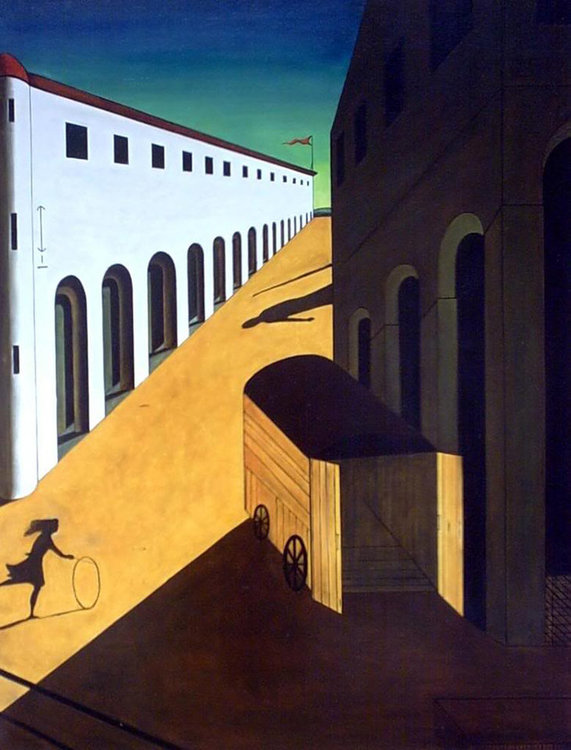 Chirico Melancholy and Mystery of a Street - Blank.jpg
