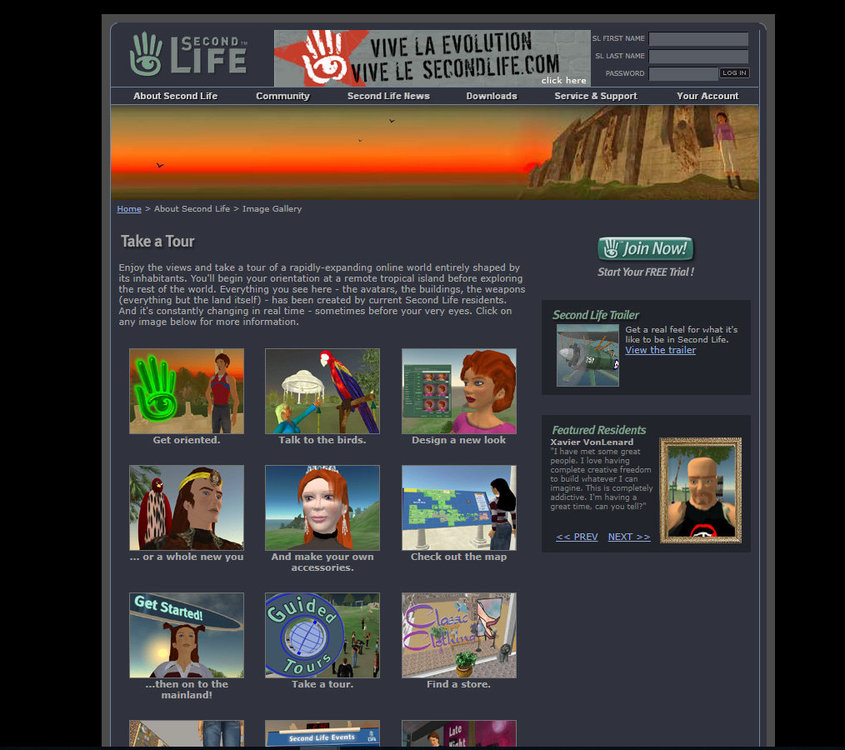 Second Life Page 2004.jpg