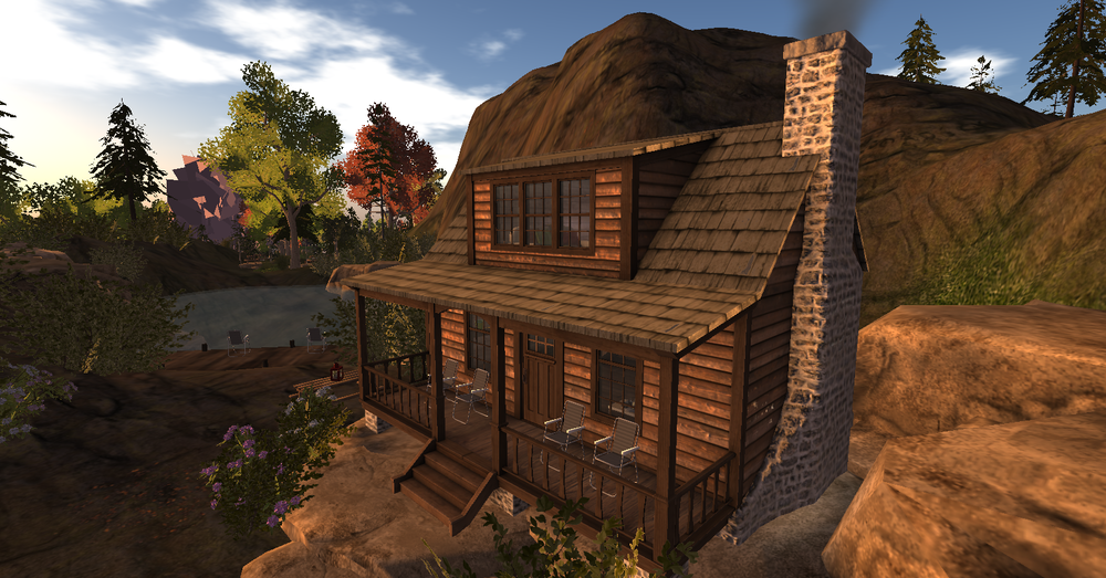 Mountain cabin in the mountains in Sheldon_001.png