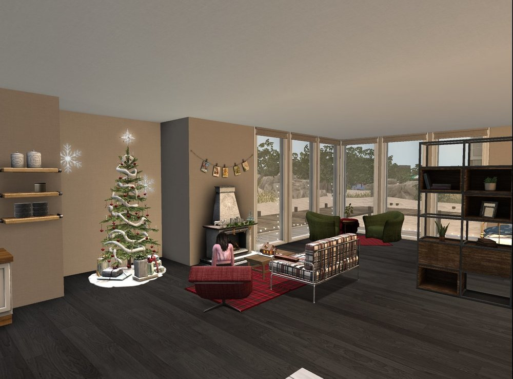 12.7 - Finished decorating for Christmas - kitchen, living room, chair nook, room divider - smaller pic_001.jpg