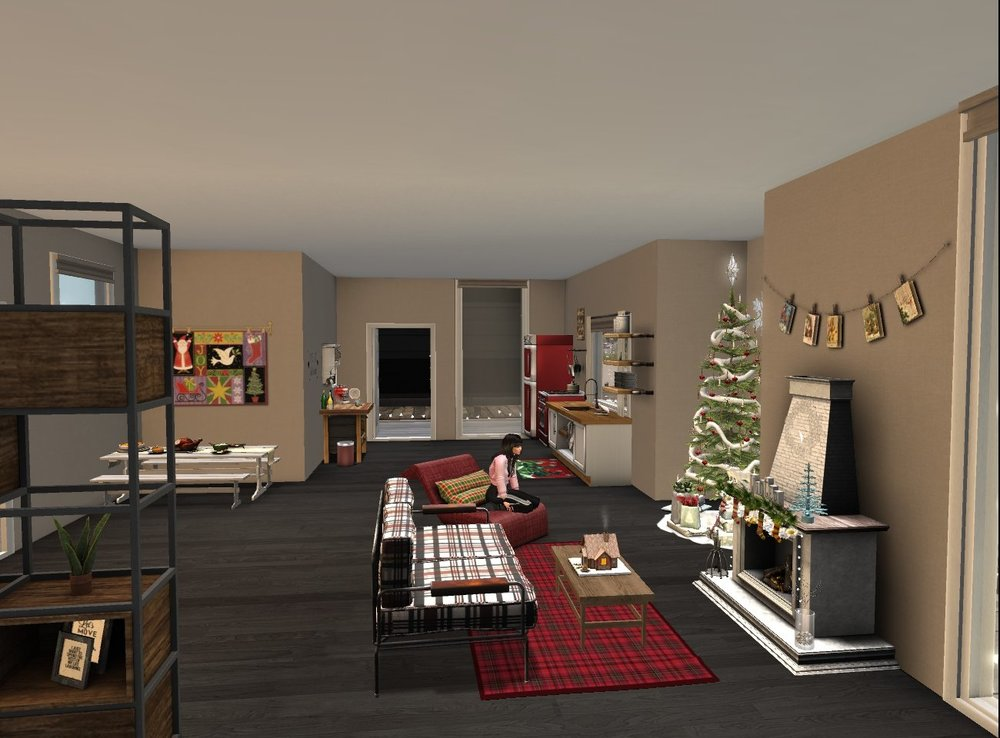 12.7 - Finished decorating for Christmas - dining, kitchen, living room_001.jpg