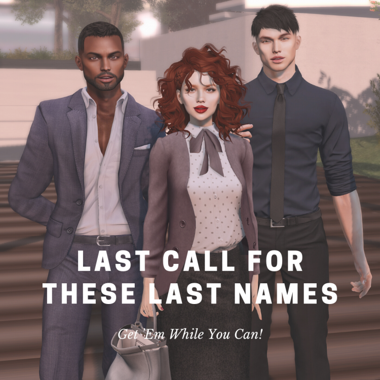 Last Call for these last names.png