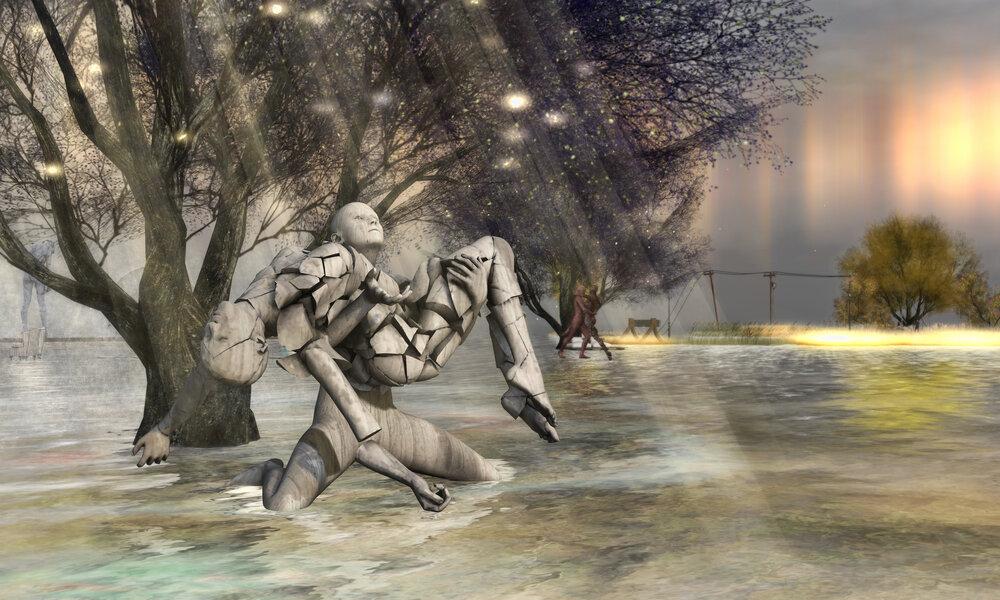 Digital Art - Cammino e Vivo Capovolto.jpg