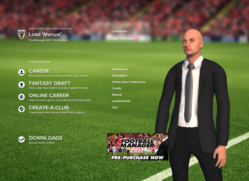 getting started football manager 2017 sports interactive community