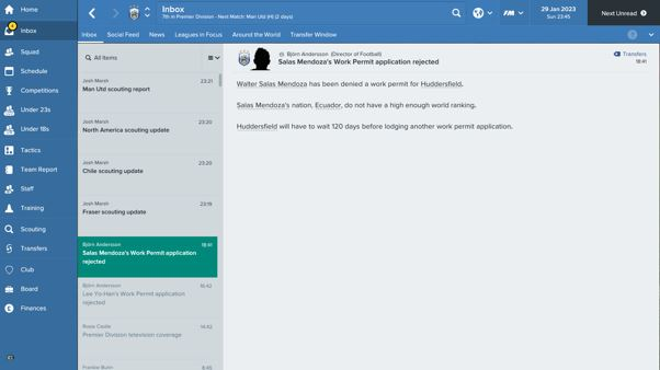 Fm 17 Can T Give Player Contract Due To Wp Issues Football Manager General Discussion Sports Interactive Community