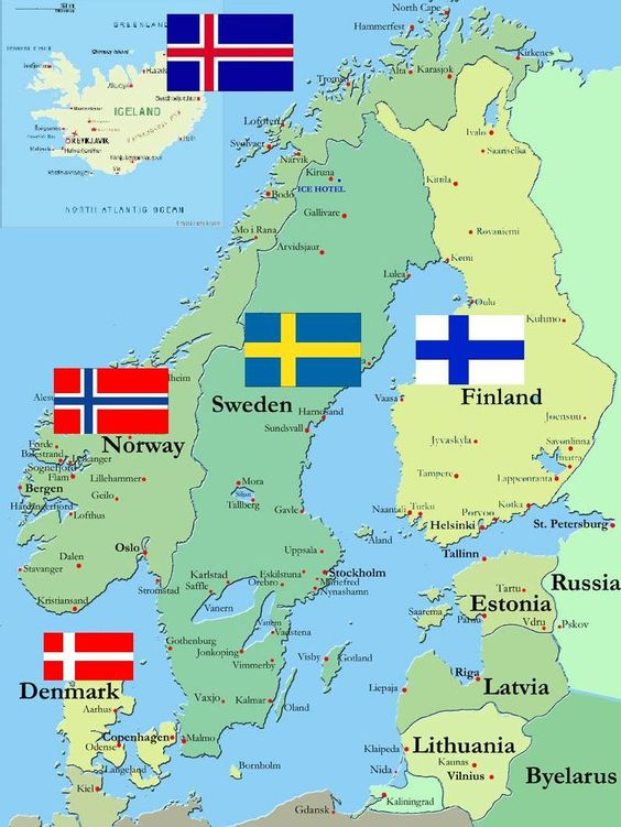 FM The North Remembers A Nordic Challenge Save FM Career - Norway map attractions