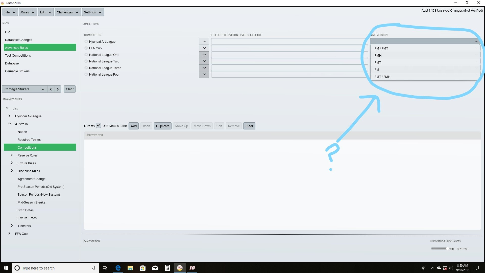 Database custom in Fm Touch 2018 - Football Manager Touch General