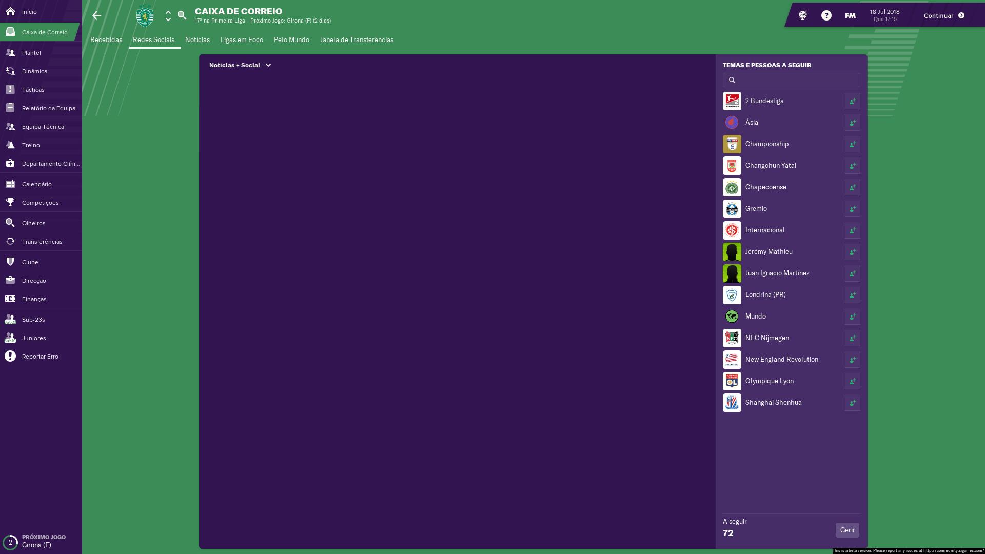 Calendario Bundesliga 2.News Social Screen At A Blank User Interface Issues