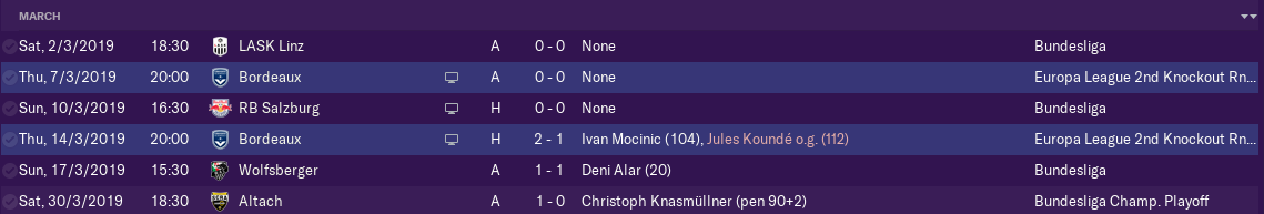 FM19] Viennese Waltz - FM Career Updates - Sports Interactive Community