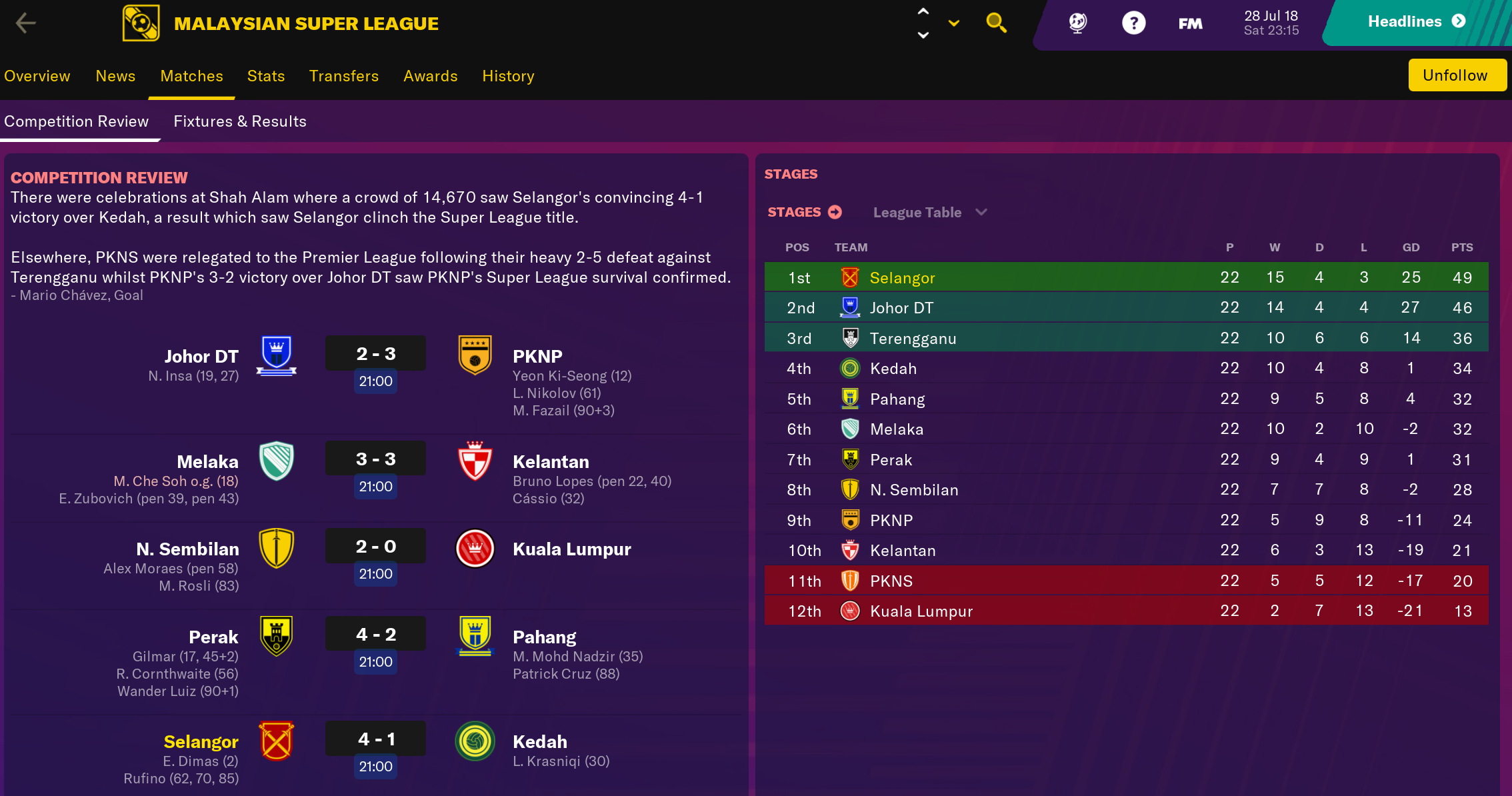 Football Manager 2019 Touch Official Feedback Thread