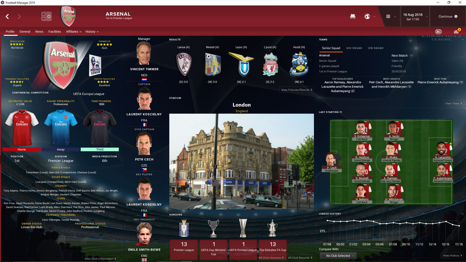 FM2019][SKIN] Champions League 2019 - Skinning Hideout