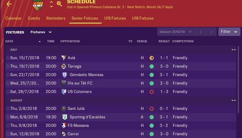 Calendario Serie B 2020 19.Fm19 From Pyrenees To Glory Fm Career Updates Sports