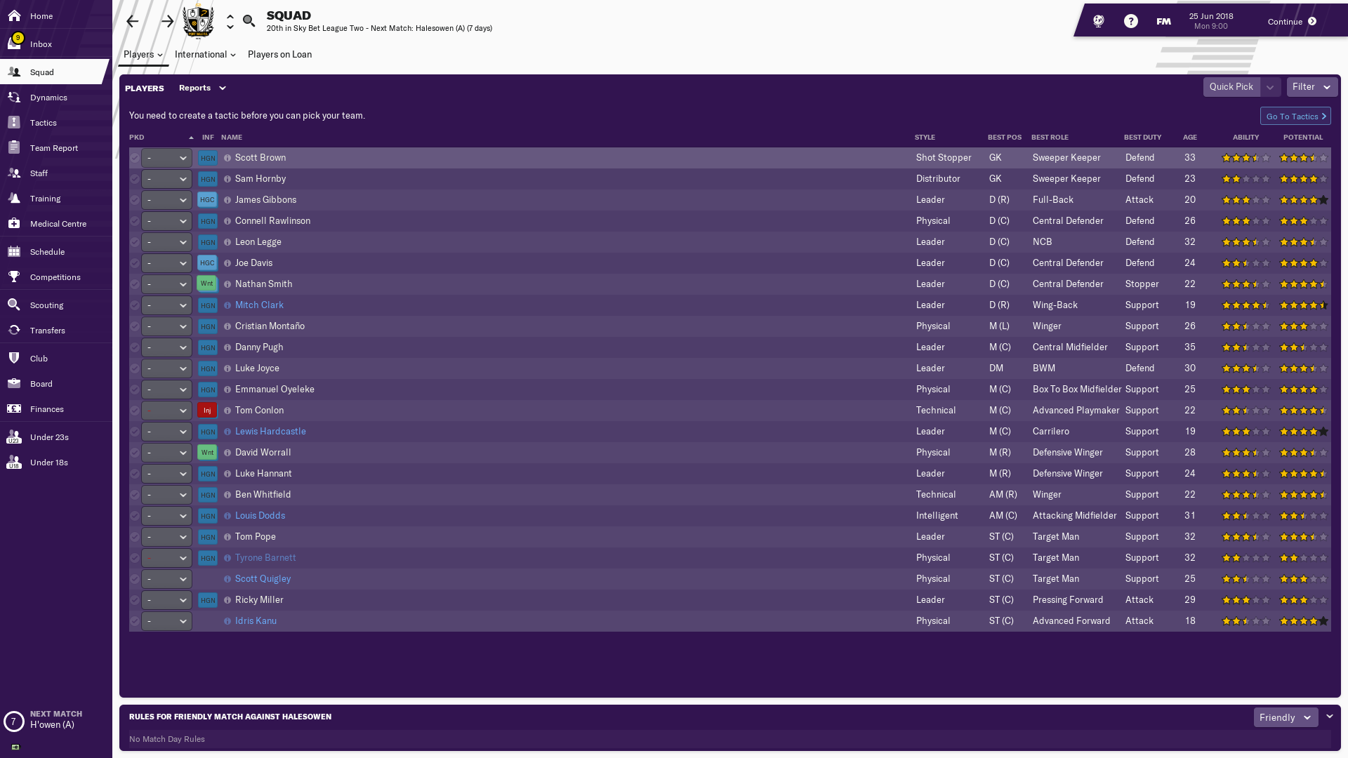 FM19] The Memoirs Of Seth Bottomley - FM Career Updates