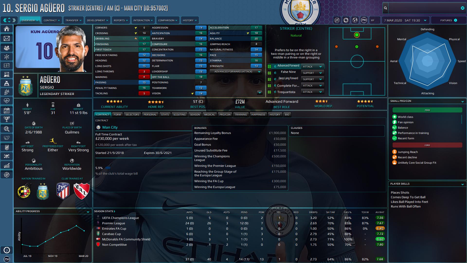 Football Manager 2020 Skins - Gemini '20 (v12) // FM20 Skin