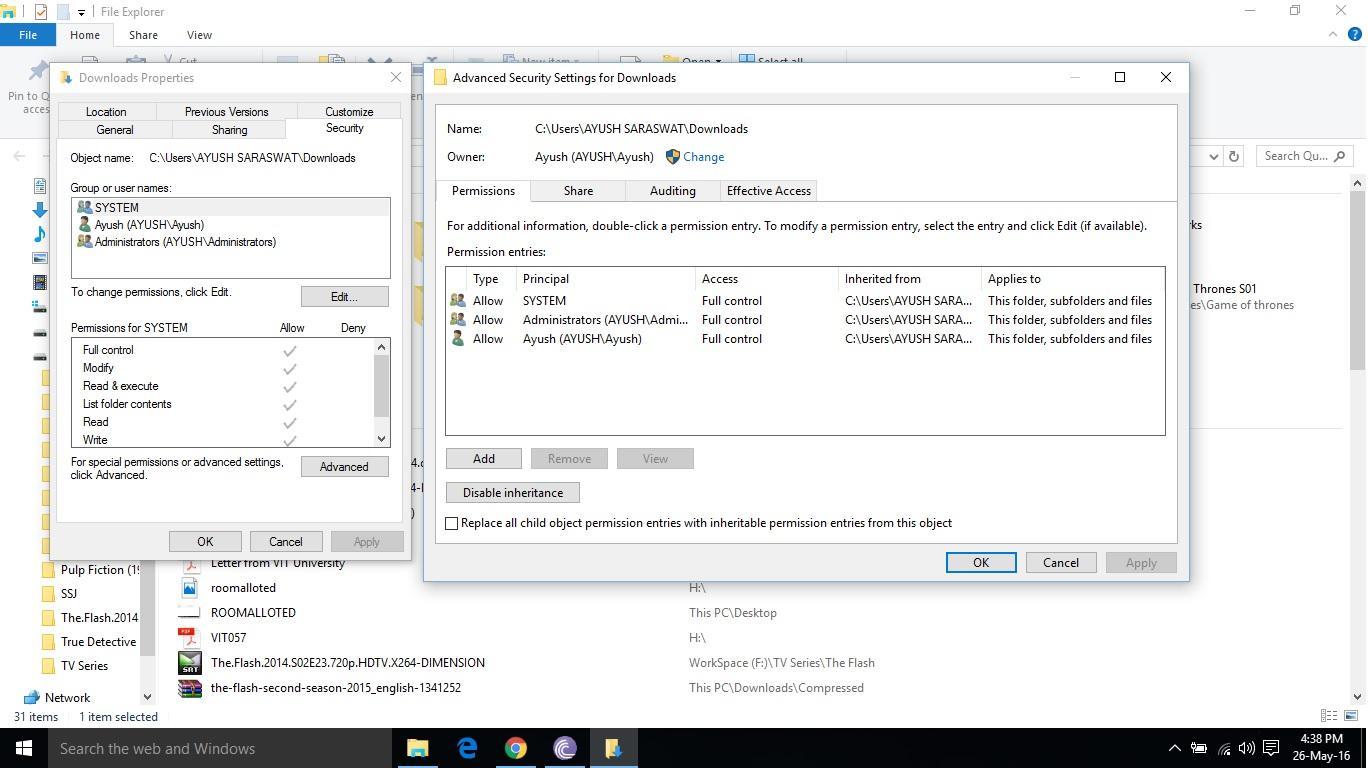 torrent error access is denied