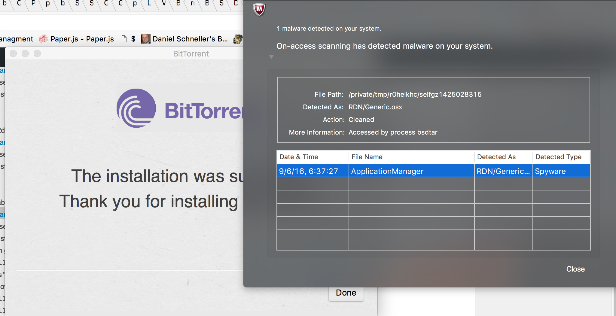 torrent client for mac without malware