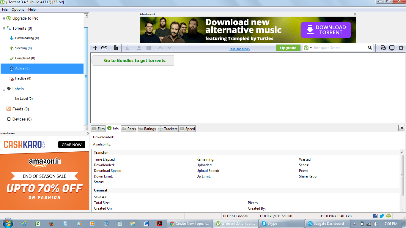 All My Downloaded Torrents Missing After Updating To 3 4 5 Build