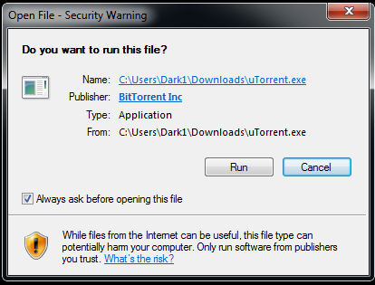 please shut down utorrent and try again