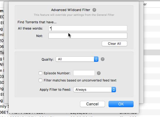 Utorrent rss not updating