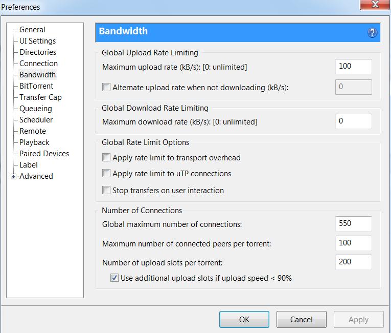 utorrent wont download at full speed