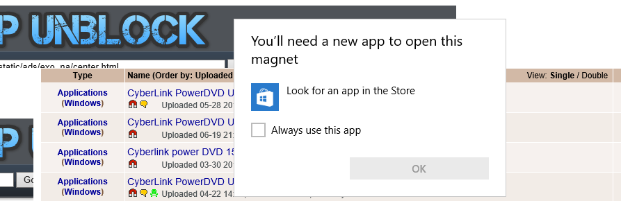 magnet link utorrent doesnt work