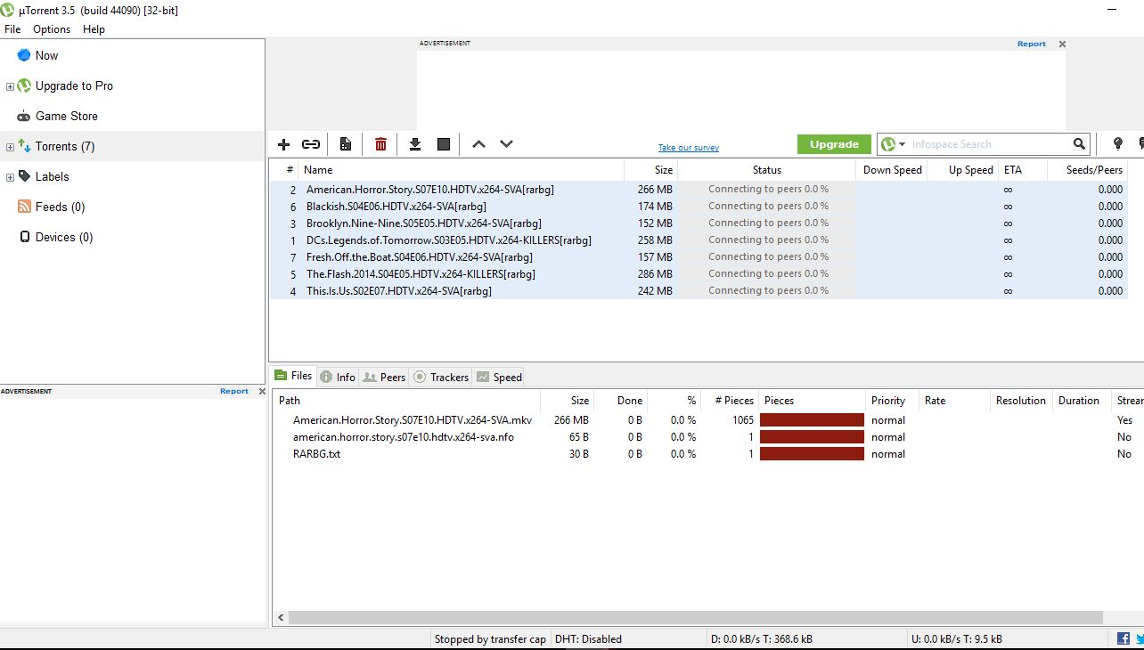 uTorrent not downloading anything - Troubleshooting