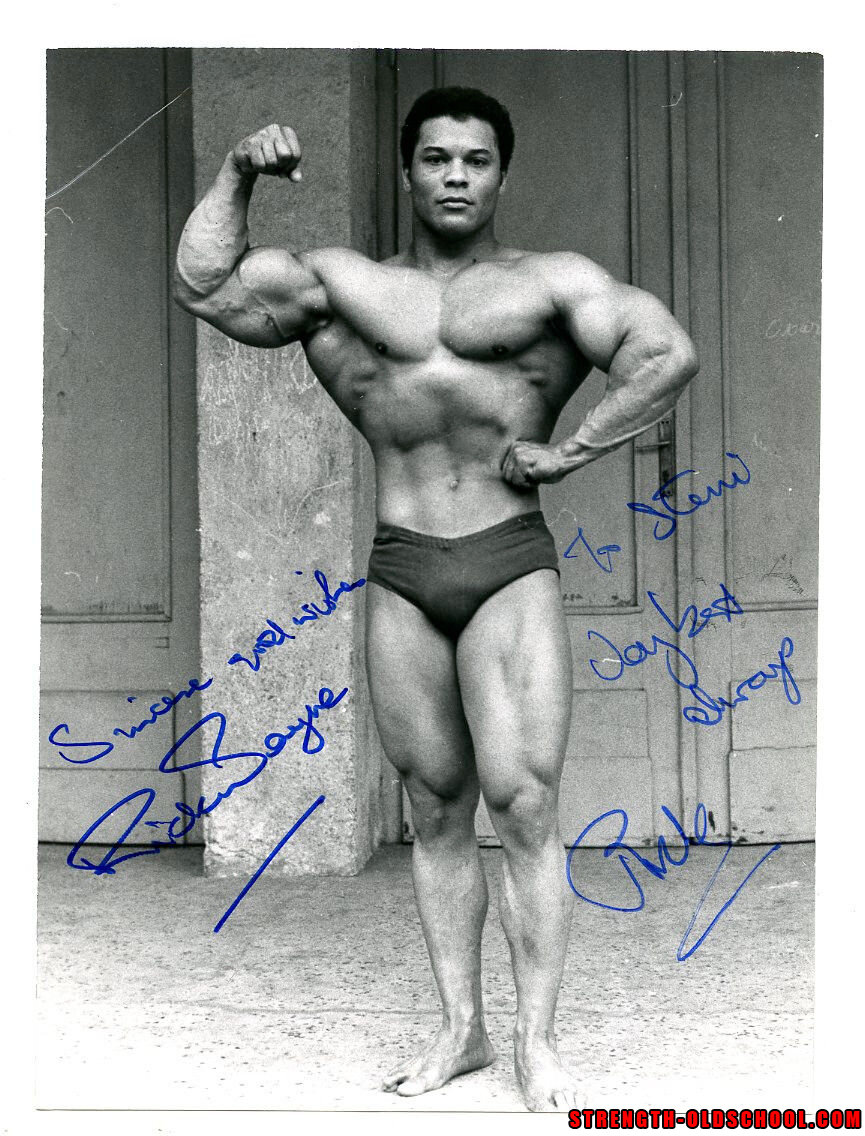 Bodybuilding Author and Physique Legend Rick Wayne