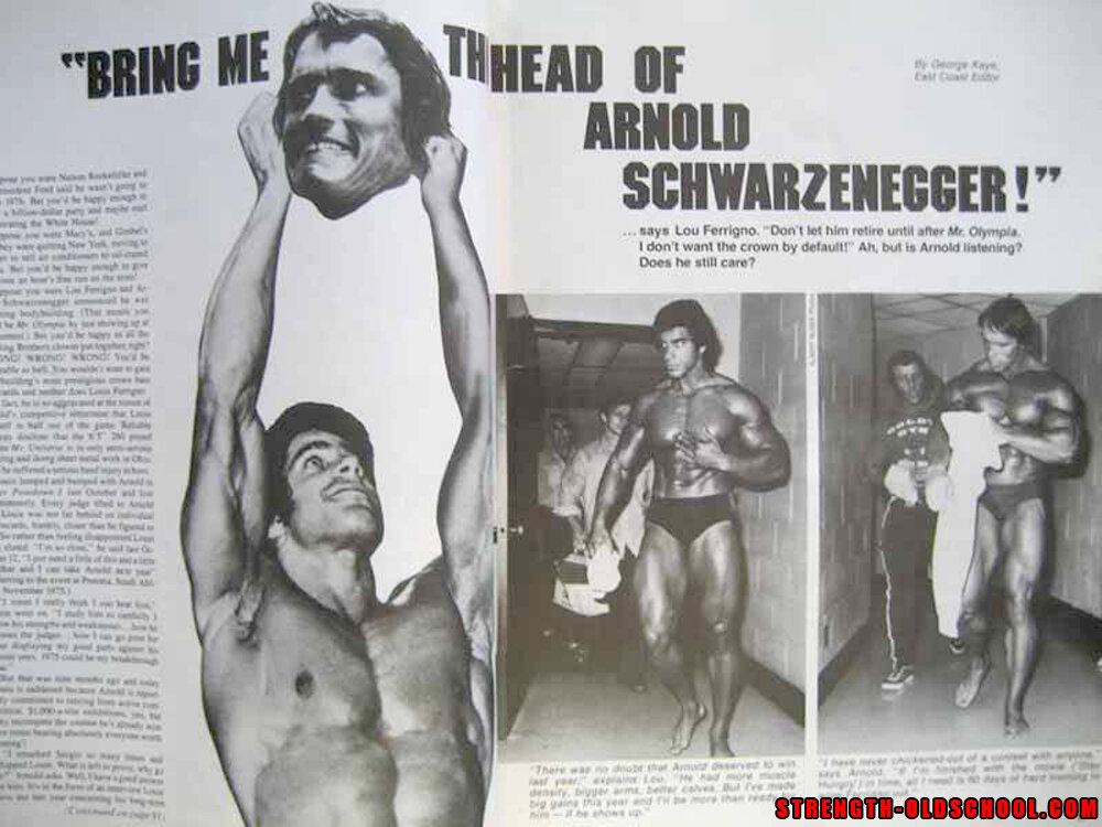 Bring Me The Head of Arnold Schwarzenegger