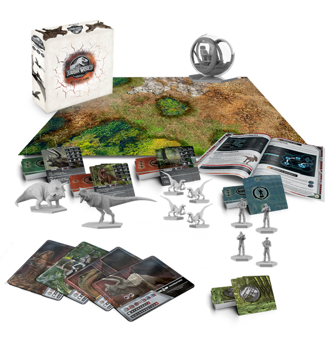 Jurassic World™ Miniature Game