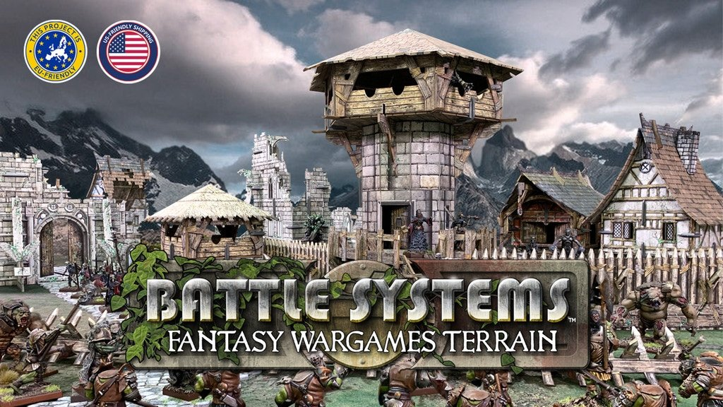 Fantasy Wargames Terrain van Battle Systems™