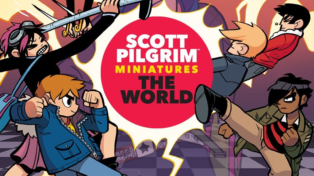 Scott Pilgrim Miniatures The World