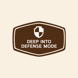 Deep Into Defense Mode