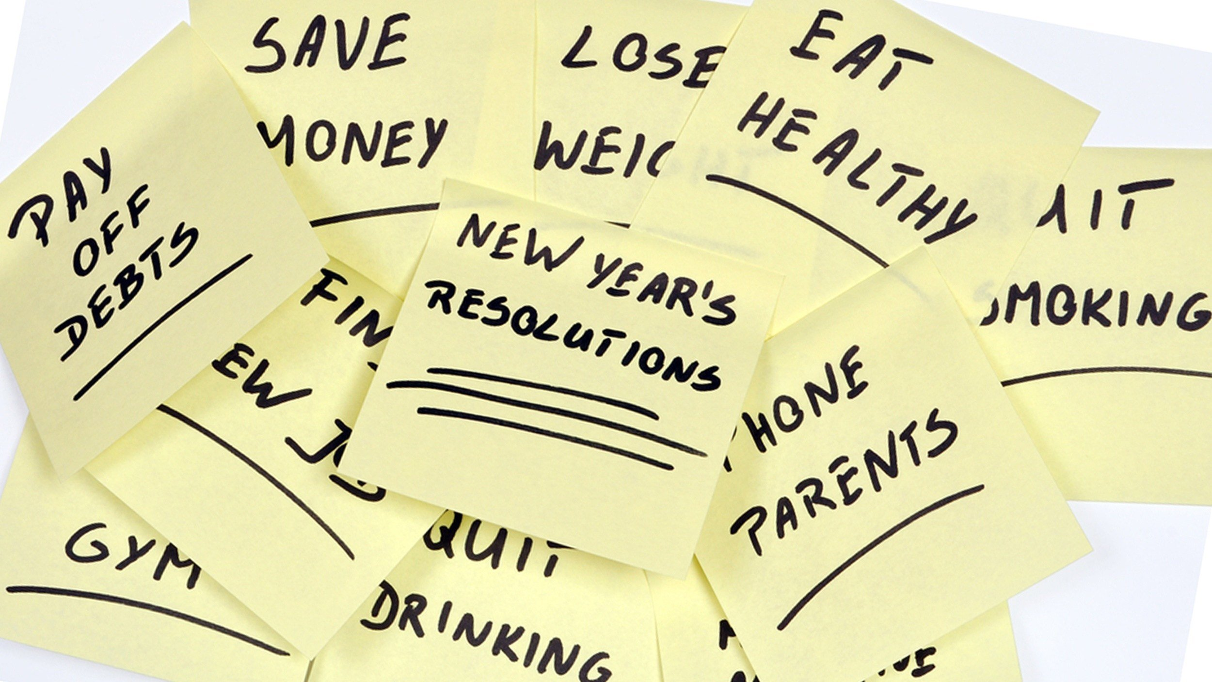 New Years Resolution Revolution