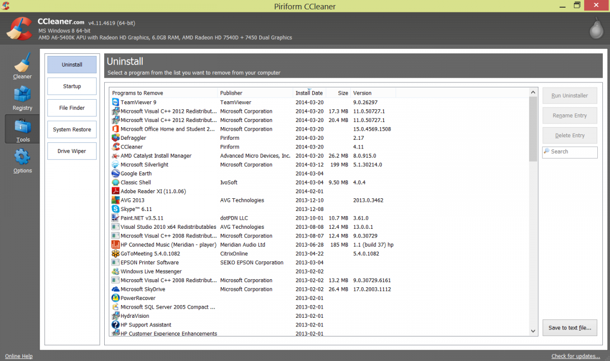 microsoft visual c++ 2010 x64 redistributable uninstall