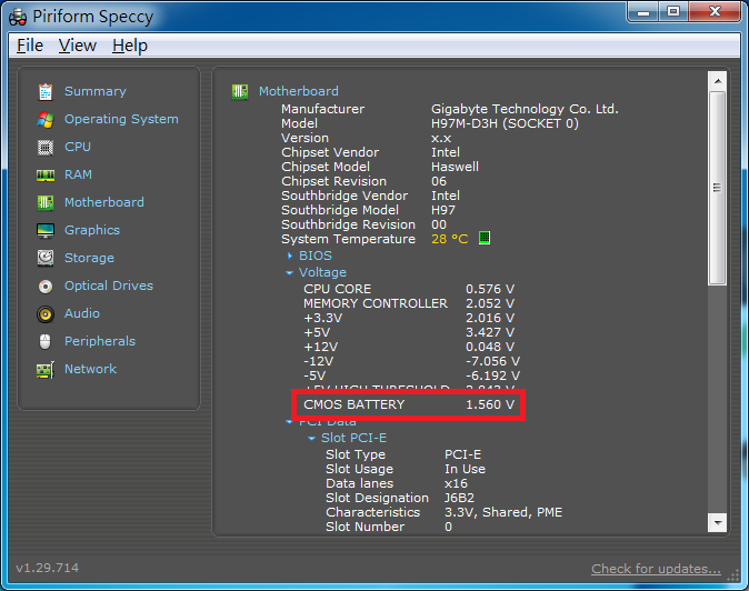Reading of CMOS Battery is wrong  - Speccy Bug Reporting - CCleaner